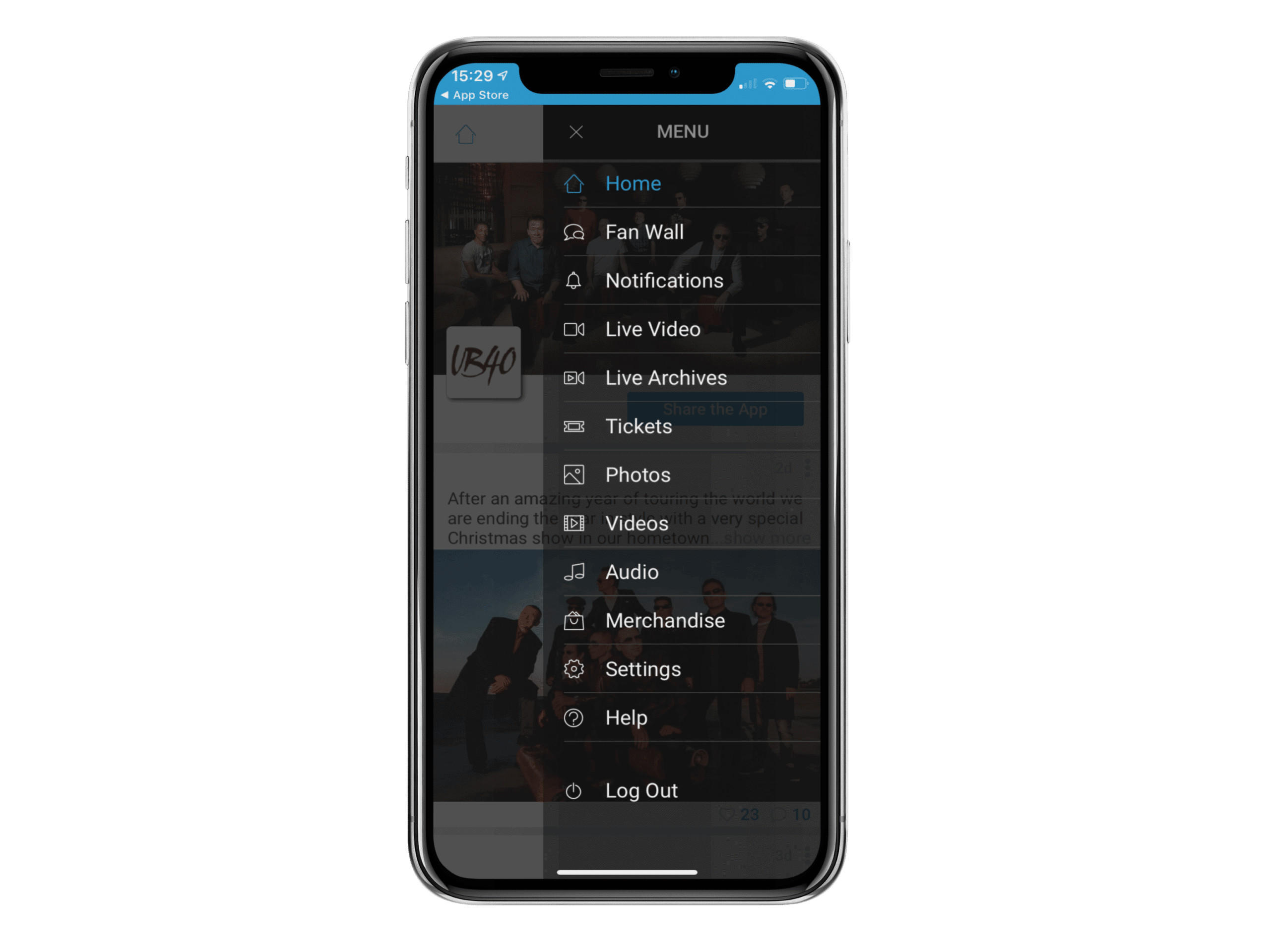 iphone x mockup against transparent background a17152 copy 3 How To Build Fan Engagement The Easy Way